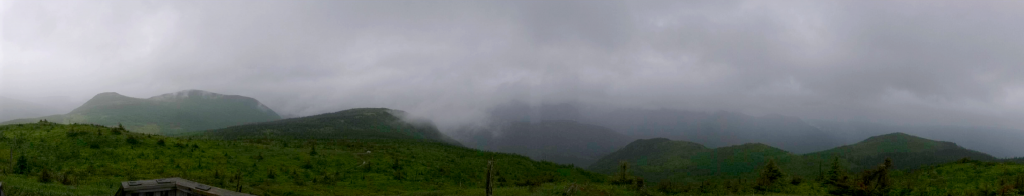 Panorama du Mont Ernest-Laforce